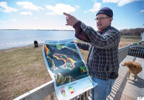 Lennox Island Losing Land To Climate Change, Coastal