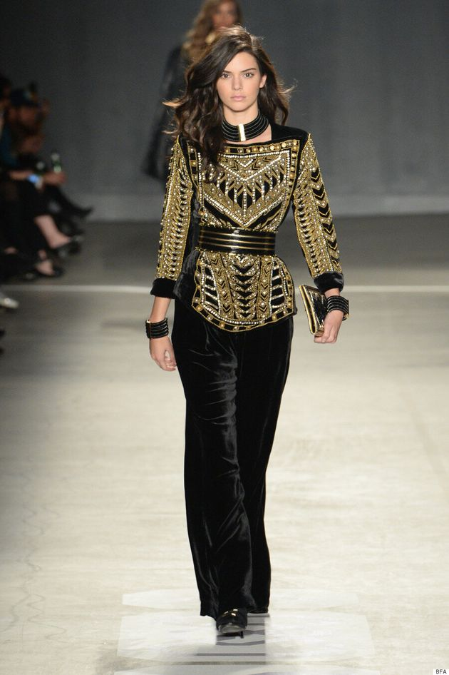Kendall Jenner, Gigi Hadid And The Backstreet Boys Star In Balmain x H&M's Runway