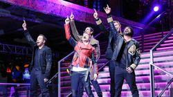 The Backstreet Boys Reunited For Balmain x H&M's Runway