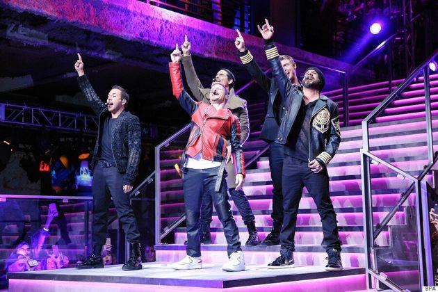 Kendall Jenner, Gigi Hadid And The Backstreet Boys Star In Balmain x H&M's Runway