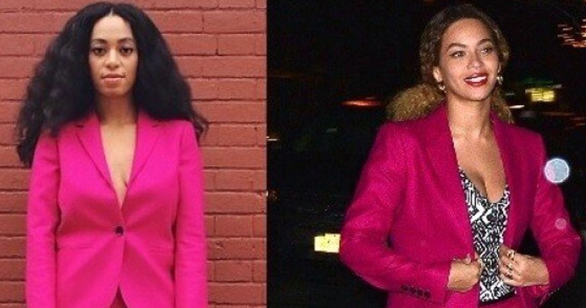 741c9f5d Beyonce's Hot Pink Gucci Suit Is From Solange's Closet | HuffPost Canada