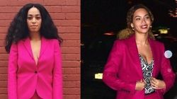 What Elevator Fight? Beyonce Shares This Pantsuit With