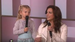 Martina McBride Helps 4 Year Old Sing To Her Cancer-Stricken