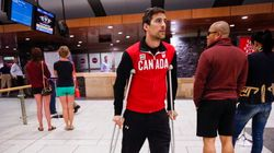 Olympic Speedskater Back On The Ice After Motorcycle