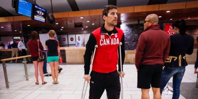 Denny Morrison, Olympic Speedskater, Back On The Ice After