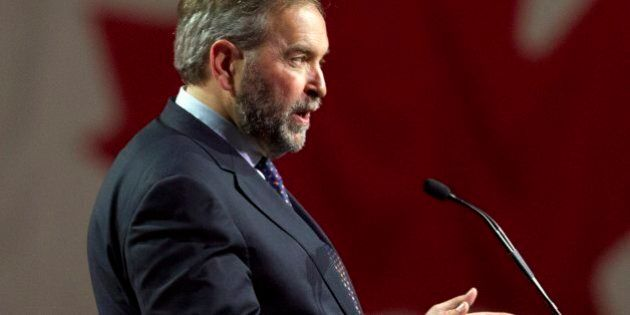 Tom Mulcair's NDP's Dreams Of Governing Shattered By Stunning Liberal