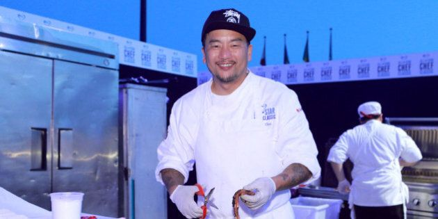 LOS ANGELES, CA - MARCH 22: Chef Roy Choi at the All-Star Chef Classic - Grill And Chill Presented By...