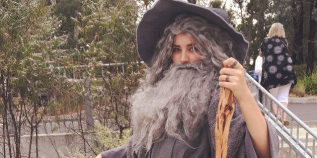 This Teen's 'Sexy Gandalf' Costume Is Breaking The