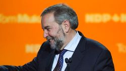 Mulcair: I Accept Liberal Majority 'With Full