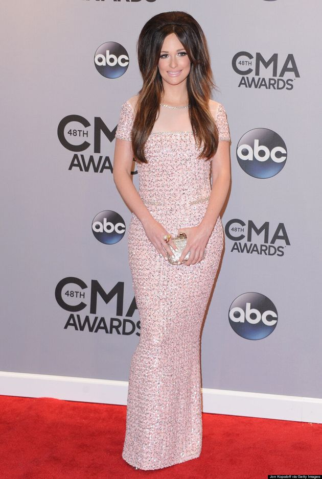 Kacey Musgraves' Hair Takes Over The 2014 CMA Awards Red
