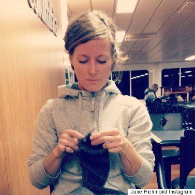 Jane Richmond Has Knit Herself Quite The
