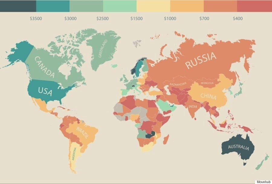 9 Countries Where People Have More Spending Cash Than
