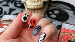 Mani Monday: Fun And Simple Halloween Nail