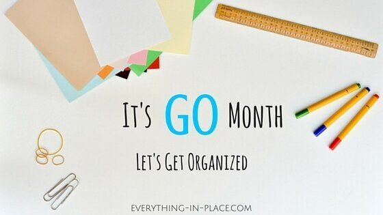 Get Organized Now And Enjoy More Of Your