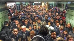 Strange Liquid Closes Toronto Subway For