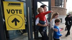 Trudeau Casts Vote In Bid To Make