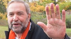 Mulcair In Montreal To Check Out NDP's Electoral