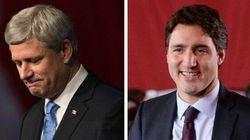 Trudeau Turfs Harper's