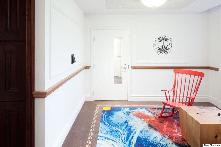 Canada House Renovation Turns Floors Into Gallery Of Artful