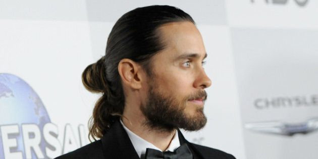 BEVERLY HILLS, CA - JANUARY 12: Musician Jared Leto attends the Universal, NBC, Focus Features, E! sponsored...