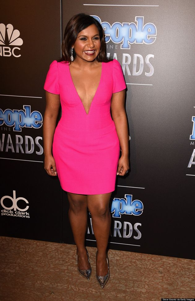 Mindy Kaling Turns Up The Heat At The People Magazine