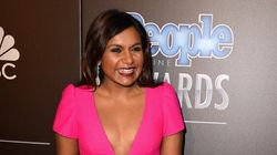 Mindy Kaling Turns Up The Heat On The Red
