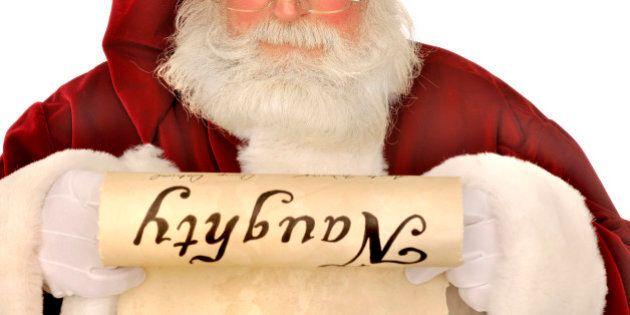 Don't Make Santa Your Parenting