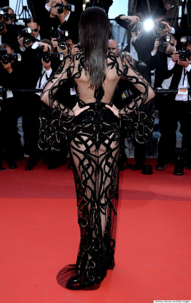 Kendall Jenner Rocks 2016 Cannes Film Festival In A Roberto Cavalli Naked