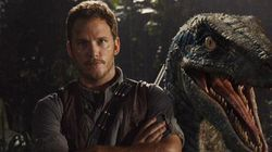 Chris Pratt And A Velociraptor Wish You Happy