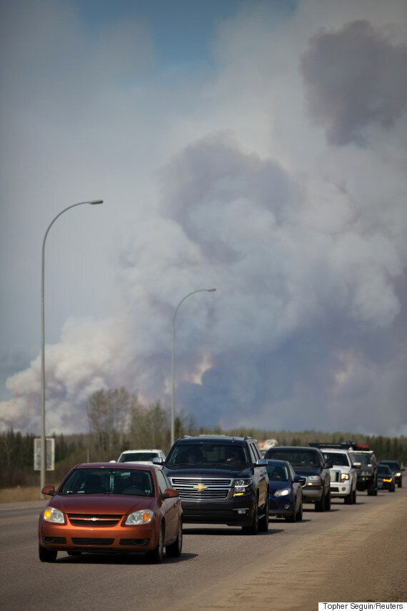 Fort McMurray Fire: Work Begins To Reunite Evacuees With Abandoned