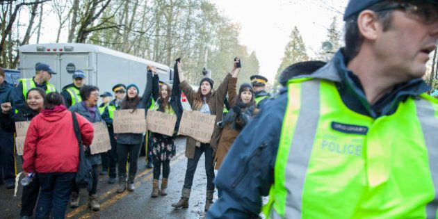 Make Kinder Morgan Pay For Protest Costs: Burnaby To National Energy