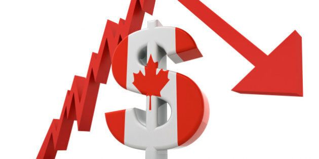 Canadian Dollar Crash