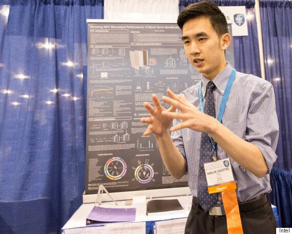 Austin Wang, Vancouver Student, Wins Top Prize At Intel