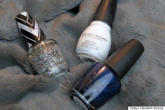 Winter Nail Art: A Snowy Design To Kick Off The