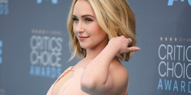 Actress Hayden Panettiere arrives at the 21st Annual Critics' Choice Awards in Santa Monica, California...