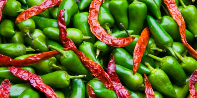 Chillis for spice, heat and
