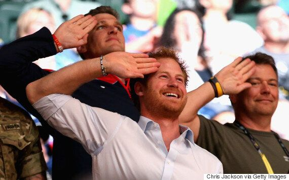 Prince Harry Delights Fans And Competitors At Invictus
