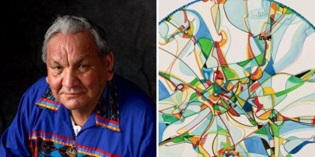Alex Janvier, Renowned Artist, To Create Signature Piece For Edmonton