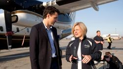 Trudeau Takes First-Hand Look At Damage In Fort