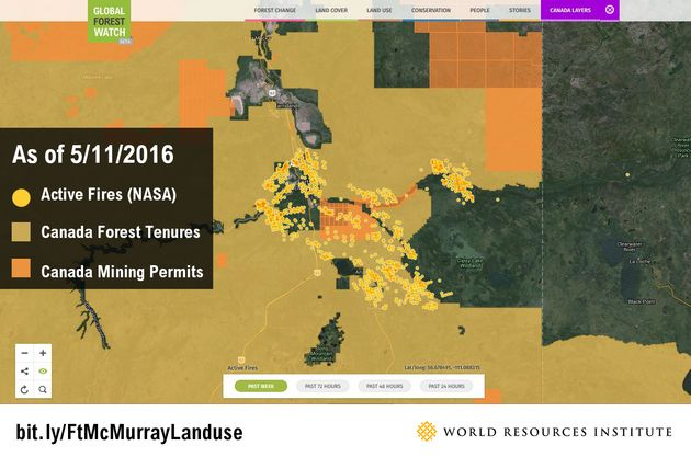 Visual Proof That The Alberta Wildfires Are Unlikely To End