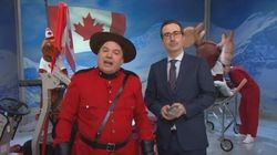 Mike Myers Helps John Oliver Make 'Most Canadian' Election
