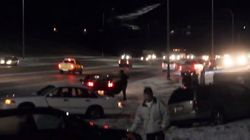 Video Captures 15-Car Chaos In