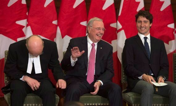 Paul Martin Throws Shade At Tories At His Portrait