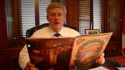 WATCH: Harper, Top Tories Read Christmas