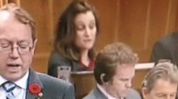 Liberal MP Caught Rehearsing Question With Maximum