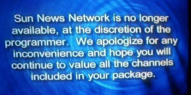 Sun News Network Shuts