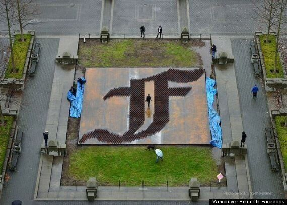 Ai Weiwei Vancouver Biennale Installation Represents