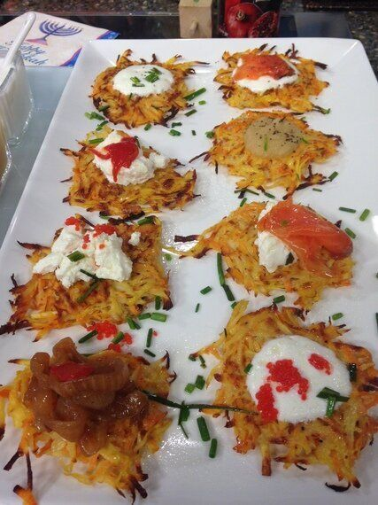 Serve Up a Healthier Latke Bar This Holiday