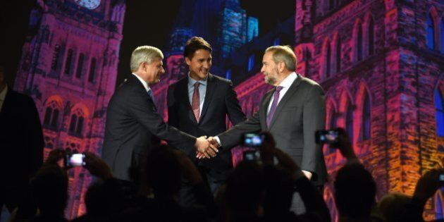 Canada Election 2015: Party Leaders Get Into Position For Sprint To Electoral