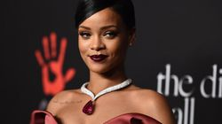 Rihanna Goes Topless In The Most Glamourous Way